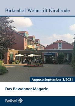 Bewohnerzeitschrift August / September 2021